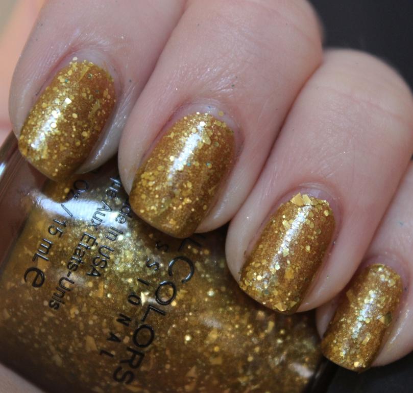 Gold a la Mode