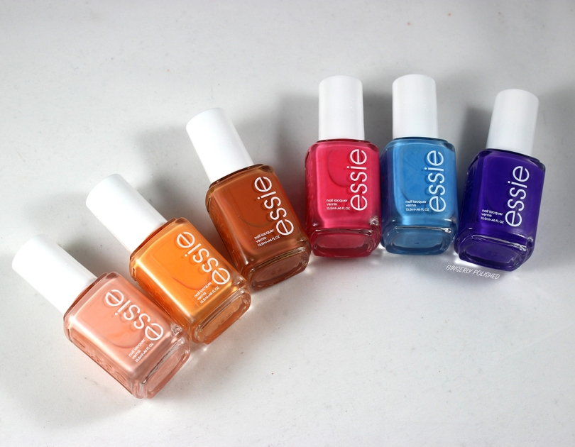 Essie Summer 2019 Collection Gingerly Polished