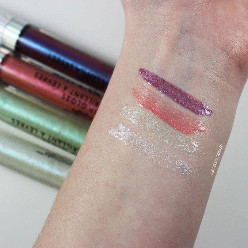 Lipgloss-Swatches