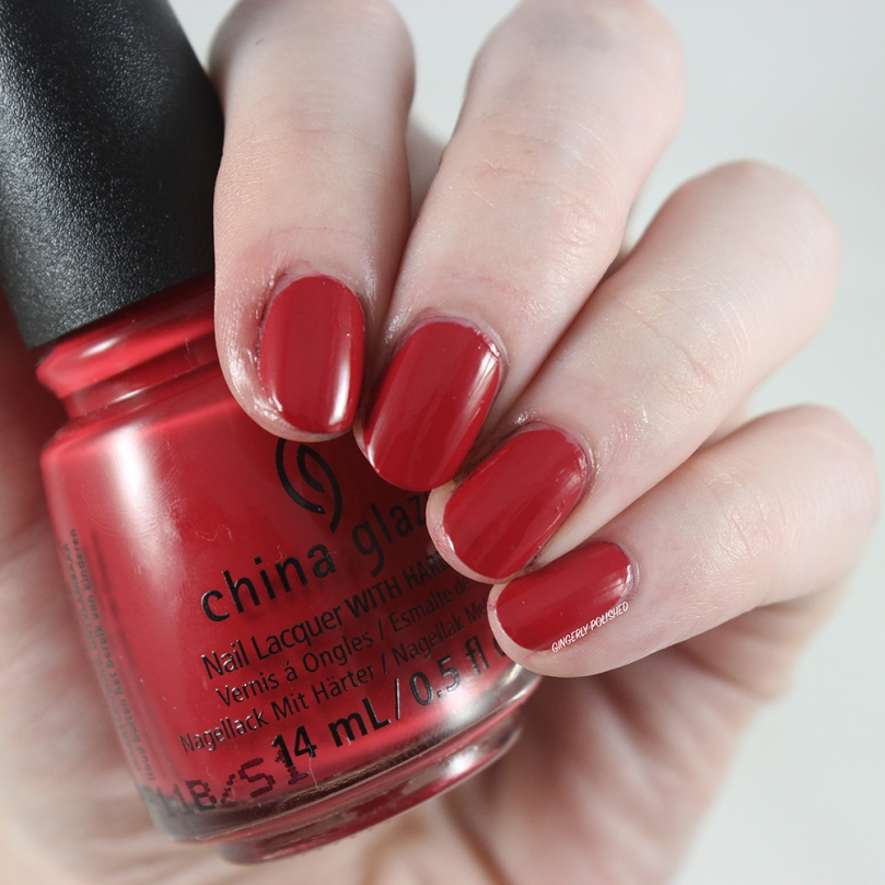 China Glaze Campfired Up! - Gone West Fall 2019