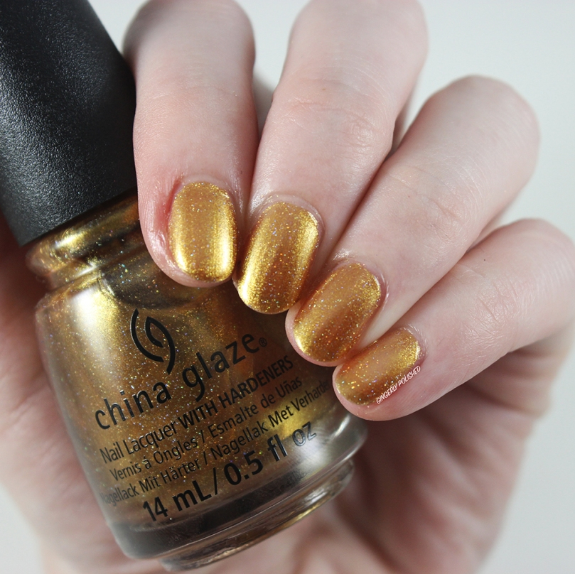 China Glaze Gold Mine Your Business - Gone West Fall 2019